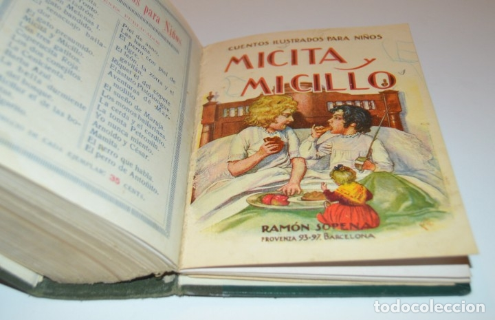 Libros antiguos: RAMON SOPENA - 29 CUENTOS ILUSTRADOS PARA NIÑOS - ENCUADERNADOS EN UN TOMO - IMPECABLES - Foto 44 - 172799969