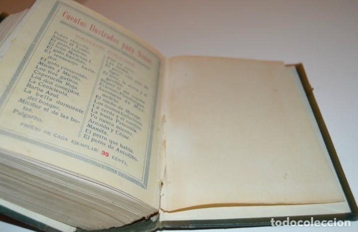 Libros antiguos: RAMON SOPENA - 29 CUENTOS ILUSTRADOS PARA NIÑOS - ENCUADERNADOS EN UN TOMO - IMPECABLES - Foto 45 - 172799969