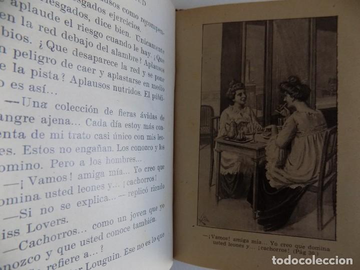 Libros antiguos: LIBRERIA GHOTICA. BIBLIOTECA SELECTA. FLORES DE JUVENTUD.RAMON SOPENA 1943. ILUSTRADO. - Foto 3 - 172838477