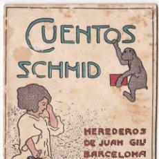 Libros antiguos: CUENTOS SCHMID - CUADERNO VI - HEREDEROS DE JUAN GILI. Lote 172879452