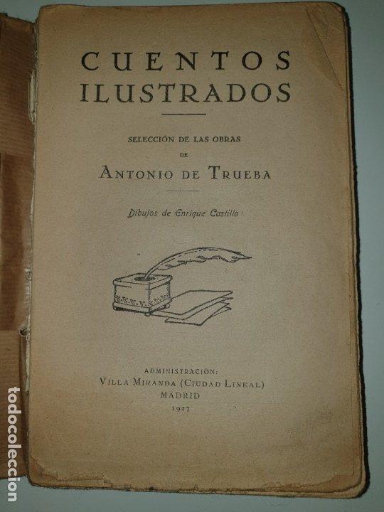 CUENTOS ILUSTRADOS SELECCIÓN DE LAS OBRAS DE ANTONIO DE TRUEBA (Libros Antiguos, Raros y Curiosos - Literatura Infantil y Juvenil - Cuentos)