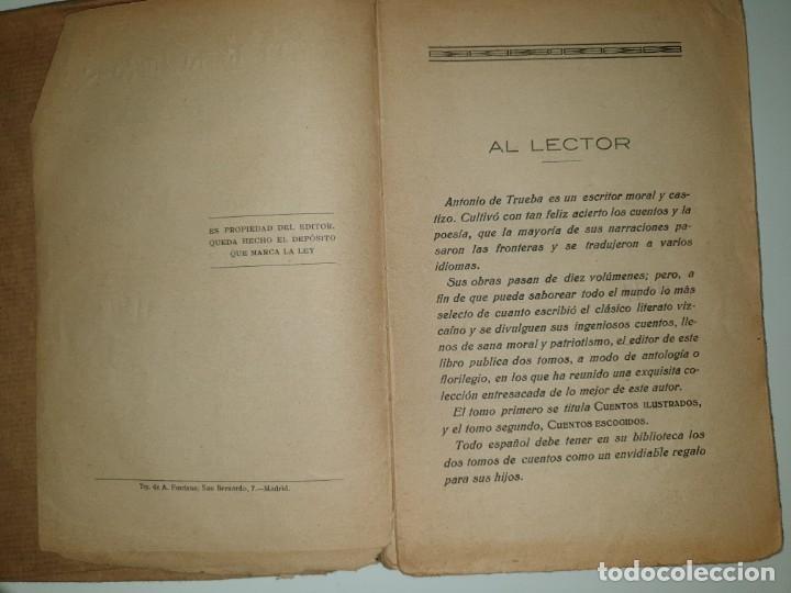 Libros antiguos: CUENTOS ILUSTRADOS Selección de las obras de Antonio de Trueba - Foto 4 - 172932828