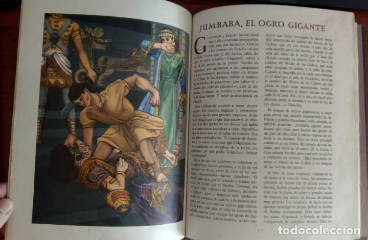 Libros antiguos: LEYENDA DE MESOPOTAMIA - Foto 2 - 173188139