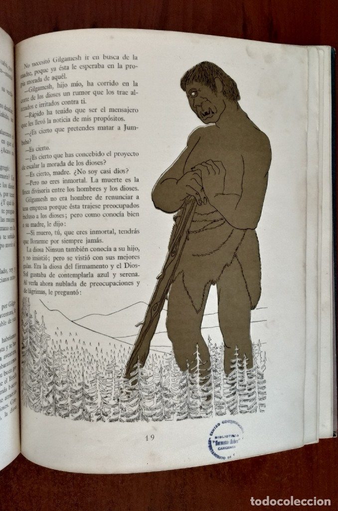 Libros antiguos: LEYENDA DE MESOPOTAMIA - Foto 4 - 173188139