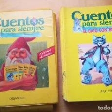 Libros antiguos: CUENTOS PARA SIEMPRE , ORBIS. Lote 173408235