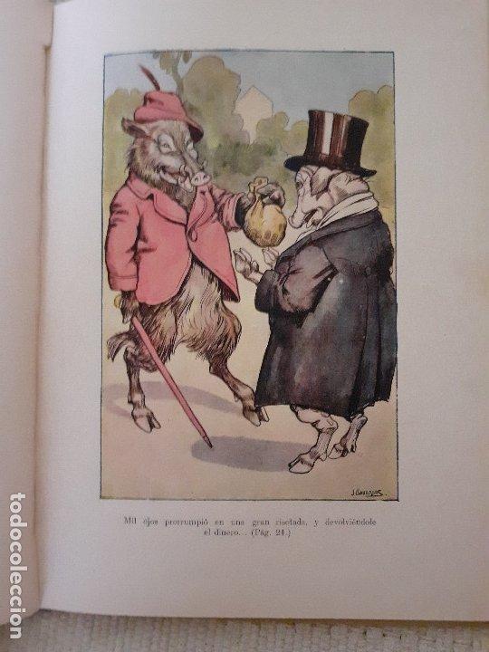 Libros antiguos: Historias de animales - Ilust. Joan Llaverías - Ramón Sopena , 1936 - Foto 6 - 223486181