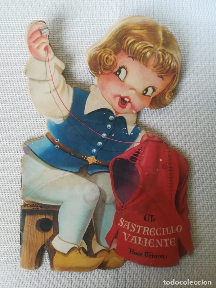 CUENTO TROQUELADO FERRÁNDIZ * EL SASTRECILLO VALIENTE - EDITORIAL VILCAR AÑO 1960 (Libros Antiguos, Raros y Curiosos - Literatura Infantil y Juvenil - Cuentos)