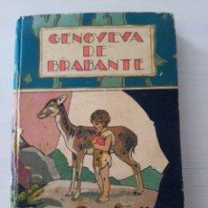 Libros antiguos: CTC - ANTIGUO LIBRO - GENOVEVA DE BRAMANTE - SATURNINO CALLEJA - PENAGOS. Lote 174081504