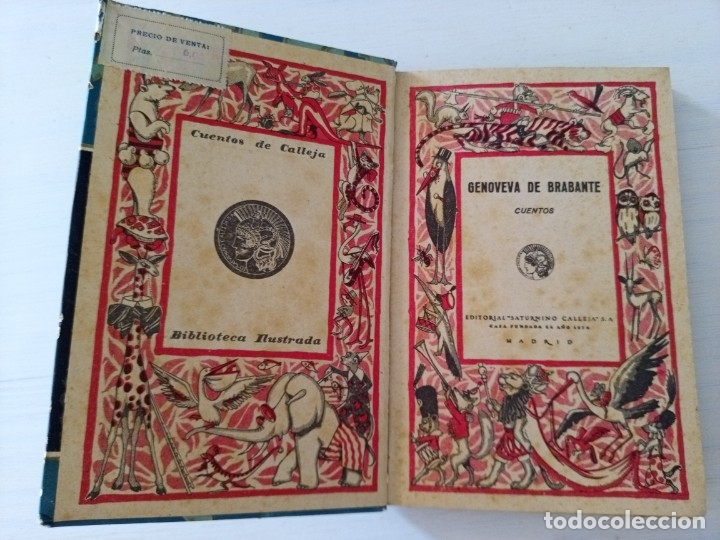 Libros antiguos: CTC - ANTIGUO LIBRO - GENOVEVA DE BRAMANTE - SATURNINO CALLEJA - PENAGOS - Foto 6 - 174081504