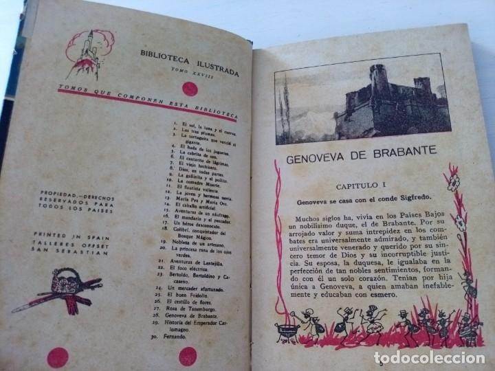 Libros antiguos: CTC - ANTIGUO LIBRO - GENOVEVA DE BRAMANTE - SATURNINO CALLEJA - PENAGOS - Foto 7 - 174081504