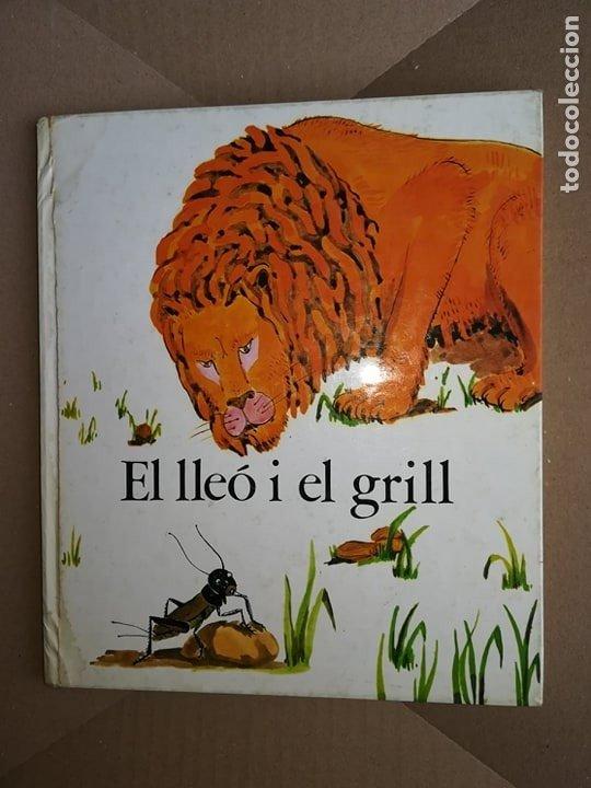 CUENTO EL LLEÓ I EL GRILL FAULES LA GALERA (Libros Antiguos, Raros y Curiosos - Literatura Infantil y Juvenil - Cuentos)