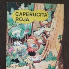 Libros antiguos: LOTE 4 CUENTOS CAPERUCITA ROJA, GULLIVER, EL REY MIDAS. CENICIENTA. EDICIONES PUNTO. . Lote 174483498