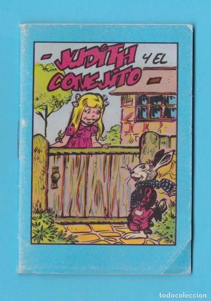 JUDITH Y EL CONEJITO. COLECCIÓN 7 PORTES. RESTAURANT 7 PORTES, BARCELONA 1980 (Libros Antiguos, Raros y Curiosos - Literatura Infantil y Juvenil - Cuentos)
