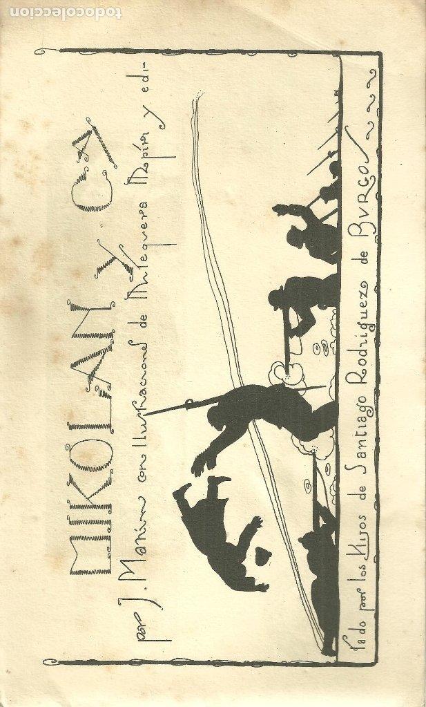Libros antiguos: 465.- MIKOLANC Y Cª-J.MANIN- ILUSTRA PEDRO ANTEQUERA AZPIRI-EDITA HIJOS DE SANTIAGO RODRIGUEZ-BURGOS - Foto 4 - 174591959
