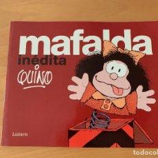 Libros antiguos: MAFALDA INEDITA. LUMEN. Lote 174593162
