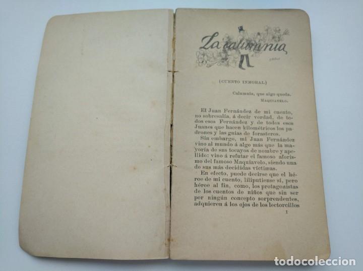 Libros antiguos: CUENTOS DEL OTRO JUEVES (AÑO 1896) - CARLOS OSSORIO Y GALLARDO, J. XAUDARÓ - ILUSTRADO - RARO - Foto 4 - 174935097