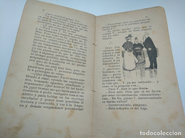 Libros antiguos: CUENTOS DEL OTRO JUEVES (AÑO 1896) - CARLOS OSSORIO Y GALLARDO, J. XAUDARÓ - ILUSTRADO - RARO - Foto 5 - 174935097