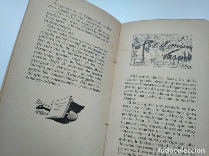 Libros antiguos: CUENTOS DEL OTRO JUEVES (AÑO 1896) - CARLOS OSSORIO Y GALLARDO, J. XAUDARÓ - ILUSTRADO - RARO - Foto 7 - 174935097
