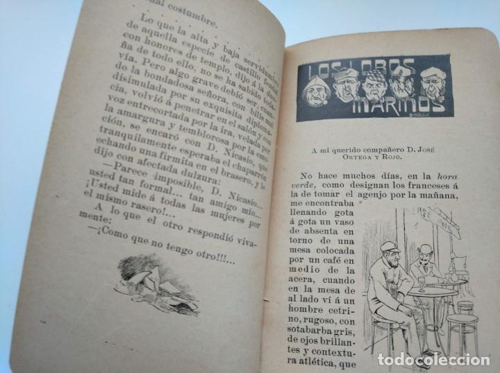 Libros antiguos: CUENTOS DEL OTRO JUEVES (AÑO 1896) - CARLOS OSSORIO Y GALLARDO, J. XAUDARÓ - ILUSTRADO - RARO - Foto 8 - 174935097