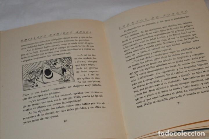 Libros antiguos: CUENTOS de POTOTO - Emiliano Ramírez, Ángel - Ilustraciones F. López Rubio - Años 30 - ¡Buen estado! - Foto 3 - 174981610