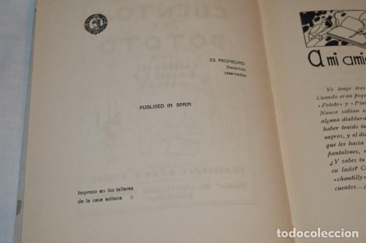 Libros antiguos: CUENTOS de POTOTO - Emiliano Ramírez, Ángel - Ilustraciones F. López Rubio - Años 30 - ¡Buen estado! - Foto 6 - 174981610