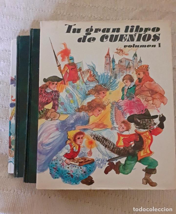 TU GRAN LIBRO DE CUENTOS I, II, III, IV - SUSAETA, 1984 (Libros Antiguos, Raros y Curiosos - Literatura Infantil y Juvenil - Cuentos)