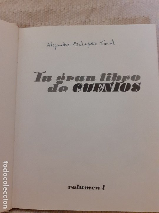 Libros antiguos: Tu gran libro de cuentos I, II, III, IV - Susaeta, 1984 - Foto 3 - 174994245