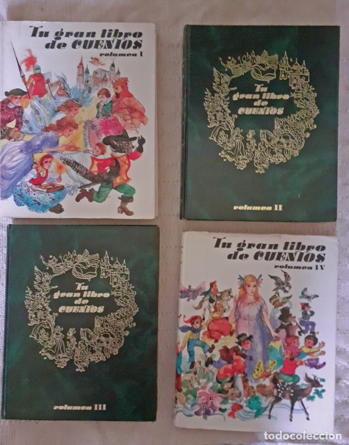 Libros antiguos: Tu gran libro de cuentos I, II, III, IV - Susaeta, 1984 - Foto 6 - 174994245