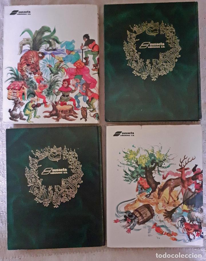 Libros antiguos: Tu gran libro de cuentos I, II, III, IV - Susaeta, 1984 - Foto 7 - 174994245