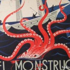 Libros antiguos: #CUENTOS DE CALLEJA # EL MONSTRUO DEL OCEANO # SATURNINO CALLEJA # MADRID # AÑO 1935 #. Lote 175406823