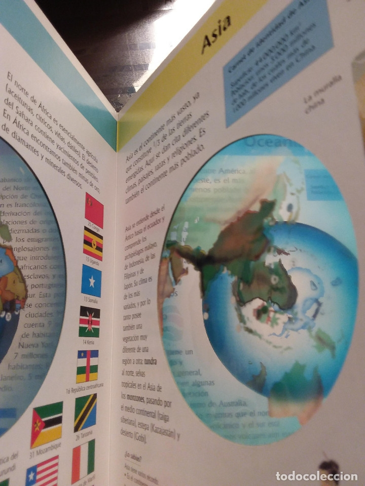 Libros antiguos: MI FANTASTICO LIBRO DE CUENTOS TRIDIMENSIONAL 1992+ Atlas visual de transparencias. Ed.Susaeta - Foto 9 - 117747799