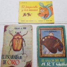 Libros antiguos: LOTE PEQUEÑOS CUENTOS-NOVELAS . Lote 175881148
