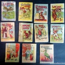 Libros antiguos: LOTE DE 10 CUENTOS DE CALLEJA, JUGUETES INSTRUCTIVOS SERIE VI, VER FOTOS Y ESTADO. Lote 175934480