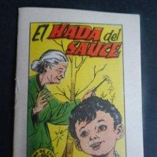 Libros antiguos: ANTIGUO CUENTO EL HADA DEL SAUCE, TESORO DE CUENTOS BRUGUERA SERIE 18 Nº5, VER FOTOS. Lote 175936652