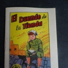Libros antiguos: ANTIGUO CUENTO EL DUENDE DE LA TIENDA, TESORO DE CUENTOS BRUGUERA SERIE 18 Nº7, VER FOTOS. Lote 175936789
