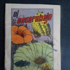 Libros antiguos: ANTIGUO CUENTO EL ESCARABAJO, TESORO DE CUENTOS BRUGUERA SERIE 19 Nº2, VER FOTOS. Lote 175937122