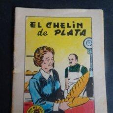 Libros antiguos: ANTIGUO CUENTO EL CHELÍN DE PLATA, TESORO DE CUENTOS BRUGUERA SERIE 29 Nº1, VER FOTOS. Lote 175937377