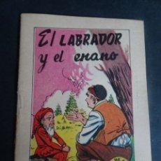 Libros antiguos: ANTIGUO CUENTO EL LABRADOR Y EL ENANO, TESORO DE CUENTOS BRUGUERA SERIE 30 Nº7, VER FOTOS. Lote 175937543