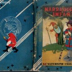 Libros antiguos: NARRADOR INFANTIL (SATURNINO CALLEJA, S.F.). Lote 176005332