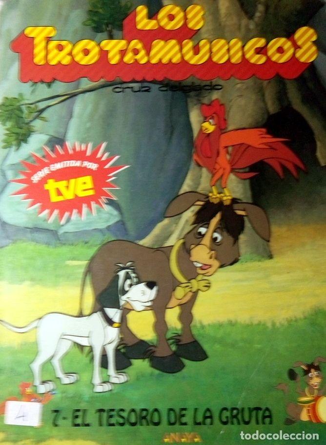 LOS TROTAMÚSICOS. Nº 7. EL TESORO DE LA GRUTA. (Libros Antiguos, Raros y Curiosos - Literatura Infantil y Juvenil - Cuentos)