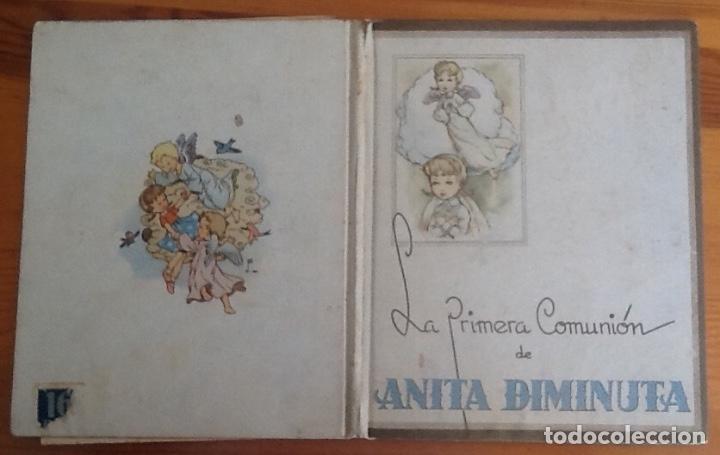 ANITA DIMINUTA, LA PRIMERA COMUNIÓN, DIBUJOS DE BLASCO, AÑOS 40 (Libros Antiguos, Raros y Curiosos - Literatura Infantil y Juvenil - Cuentos)