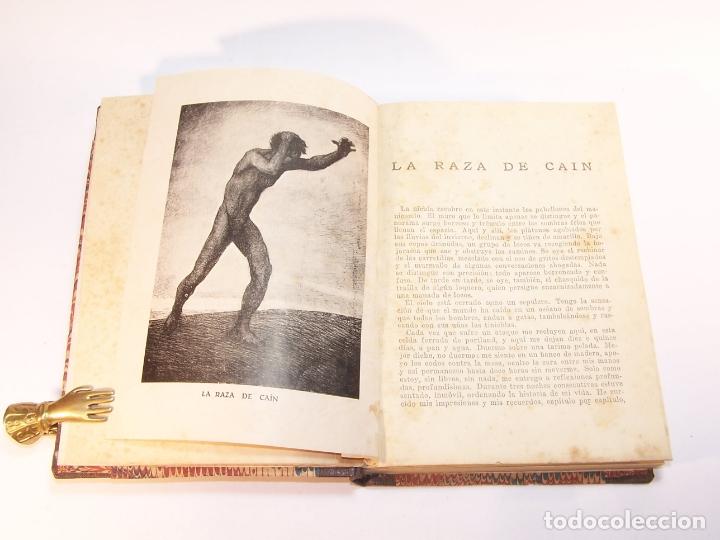 Libros antiguos: Malditos ( cuentos ). Elías Castelnuovo. Edit. Claridad. Buenos Aires. 1924. 125 pp. 19 x 13,5 cm. - Foto 3 - 176767405