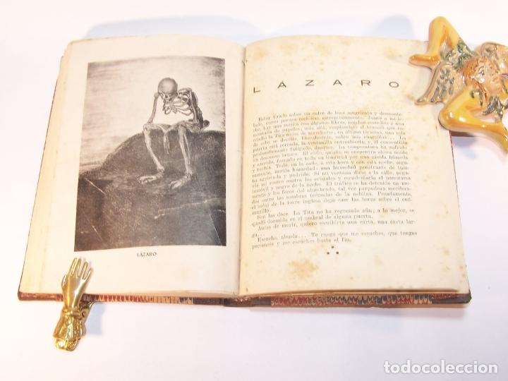 Libros antiguos: Malditos ( cuentos ). Elías Castelnuovo. Edit. Claridad. Buenos Aires. 1924. 125 pp. 19 x 13,5 cm. - Foto 5 - 176767405