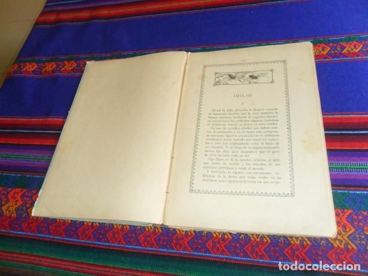 Libros antiguos: BIBLIOTECA NATURA IDILIO LA GOLONDRINA DE MANUEL MARINEL-LO. DIBUJOS OPISSO. MUY RARO. - Foto 5 - 54739273