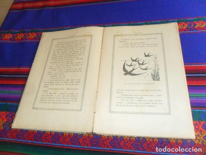 Libros antiguos: BIBLIOTECA NATURA IDILIO LA GOLONDRINA DE MANUEL MARINEL-LO. DIBUJOS OPISSO. MUY RARO. - Foto 8 - 54739273