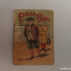 Libros antiguos: ANTIGUO MINI CUENTO DE CALLEJA - POCA PUPA - ORIGINAL, LEER DESCRIPCIÓN. Lote 177014512