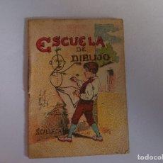 Libros antiguos: ANTIGUO MINI CUENTO DE CALLEJA - ESCUELA DE DIBUJO - ORIGINAL, LEER DESCRIPCIÓN. Lote 177016377