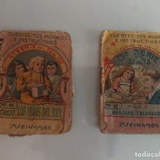 Libros antiguos: MINI CUENTOS CUENTECITOS MORALES E INSTRUCTIVOS , LEER DESCRIPCIÓN. Lote 177076689