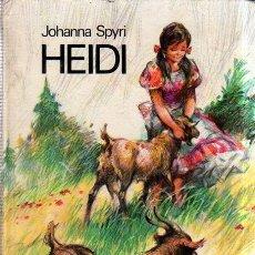 Libros antiguos: HEIDI. JOHANNA SPYRI. CIRCULO DE LECTORES. 1975.. Lote 177130144