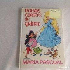 Libros antiguos: NUEVOS CUENTOS DE GRIMM ILUSTRACIONES MARÍA PASCUAL 1971. Lote 177134547